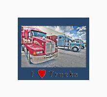 I Love Trucks-2 Unisex T-Shirt