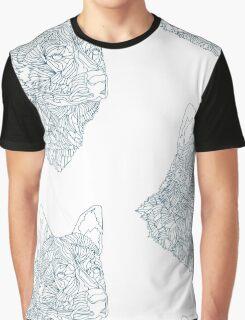 Geo Dog Graphic T-Shirt