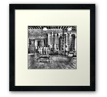 Vat to Barrel II Framed Print