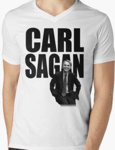 Carl Sagan Mens V-Neck T-Shirt
