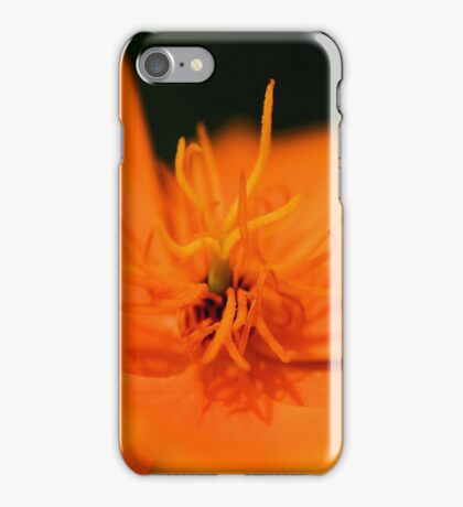 Poppy Orange iPhone Case/Skin
