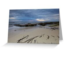 Low Tide At Redgate Beach - Western Australia Greeting Card