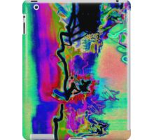photographic experimental psychedelic smoothness iPad Case/Skin
