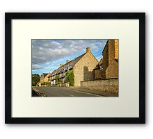 Broadway, The Cotswolds Framed Print