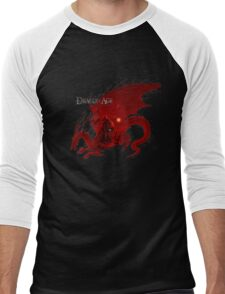 Dragon Age Origins-Logo Men's Baseball ¾ T-Shirt