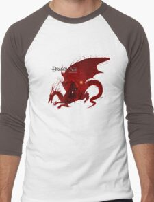 Dragon Age Origins-Logo Men's Baseball ¾ T-Shirt