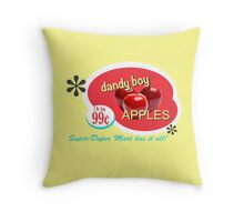 Dandy Boy Apples Throw Pillow