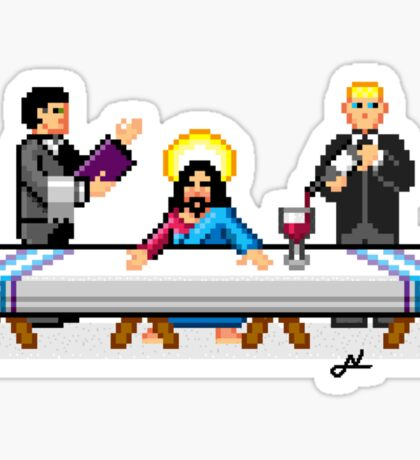 VIP last supper Sticker