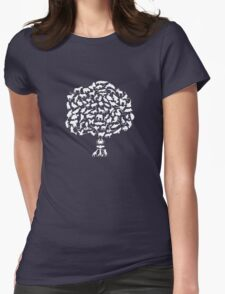Animal Tree Womens Fitted T-Shirt