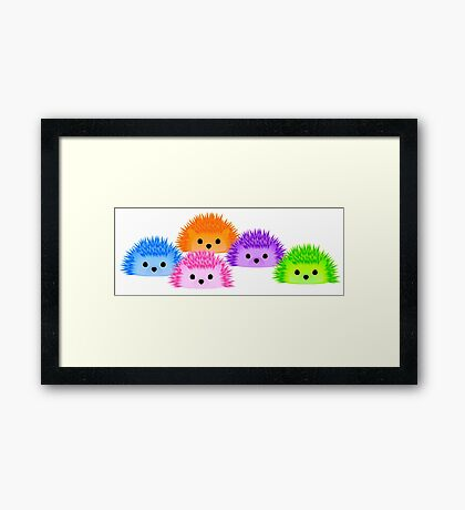 The Whole Prickle! Framed Print