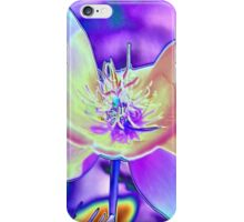 Colored Foil Poppy iPhone Case/Skin