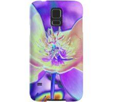 Colored Foil Poppy Samsung Galaxy Case/Skin
