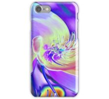 Windy Day Through the Poppies iPhone Case/Skin