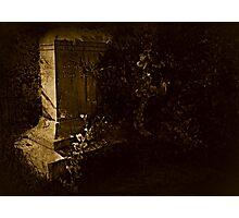 Born-Died Photographic Print