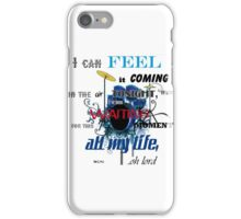 IN THE AIR TONIGHT iPhone Case/Skin