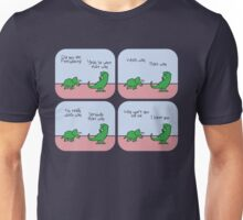 T-Rex Hates Giving Directions Unisex T-Shirt