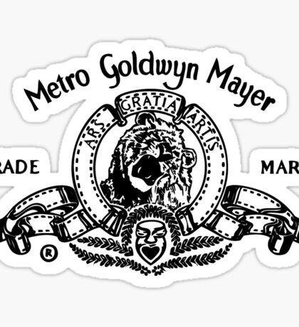 Metro Goldwyn Mayer Sticker