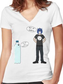 The Creatures - ImmortalHD/OptimusHD Women's Fitted V-Neck T-Shirt