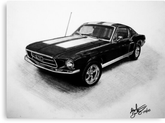 1967 Ford Mustang Fastback by Graham Beatty