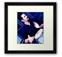 Beat the Blues Away Framed Print
