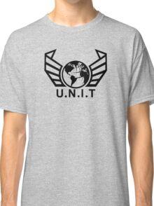 New U.N.I.T (Black) Classic T-Shirt