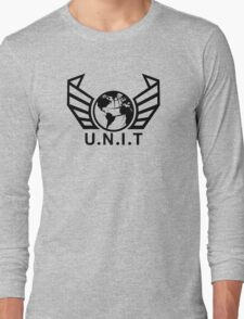 New U.N.I.T (Black) Long Sleeve T-Shirt