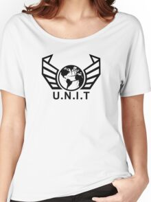 New U.N.I.T (Black) Women's Relaxed Fit T-Shirt