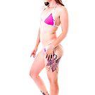 Pink Bikini Pinup by Jonathan Coe