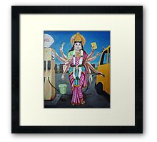 A Goddess Has to do what a Goddess has to do.  Framed Print