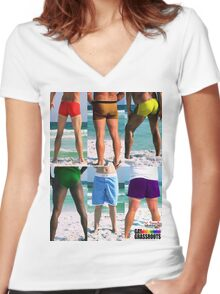 Equality House Fundraiser #11 (stack) Women's Fitted V-Neck T-Shirt