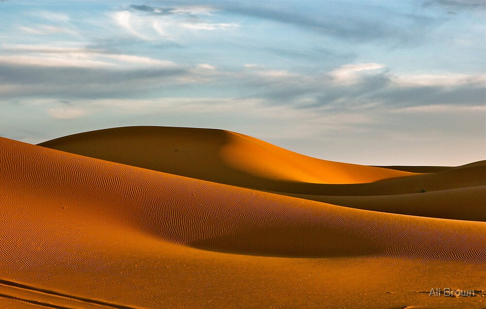 The Sahara... by Ali Brown