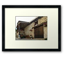 Spanish Rural House Framed Print