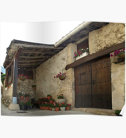 Spanish Rural House Poster