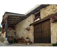 Spanish Rural House Photographic Print
