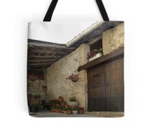 Spanish Rural House Tote Bag