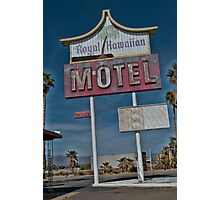 Old & Tired Motel Photographic Print