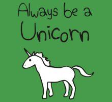 Always Be A Unicorn Baby Tee