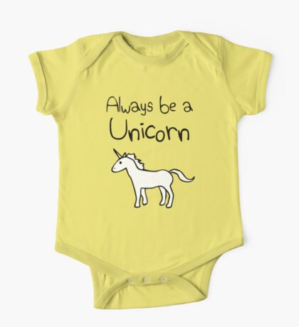 Always Be A Unicorn One Piece - Short Sleeve