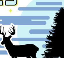 Until Dawn - Blackwood Pines Lodge Sticker