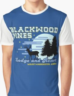 Until Dawn - Blackwood Pines Lodge Graphic T-Shirt