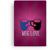 Mug Love Canvas Print
