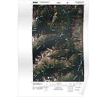 USGS Topo Map Washington State WA Frosty Creek 20110427 TM Poster