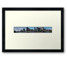 Brisbane from Southbank (P-i) Framed Print