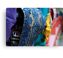 Colourful kimonos Canvas Print