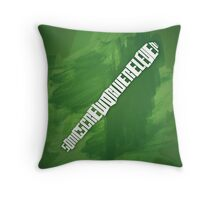 Sonic Screwdriver Throw Pillow