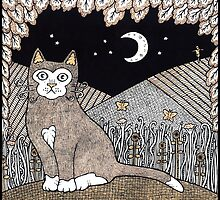 Country Cat by Anita Inverarity
