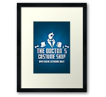 Doctor's Costume Shop Framed Print