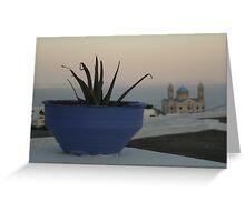An afternoun in Paros Greeting Card