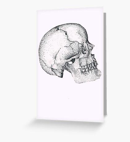 Wilbur Malone the Skull Greeting Card