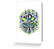 HORNETS WHITE Greeting Card